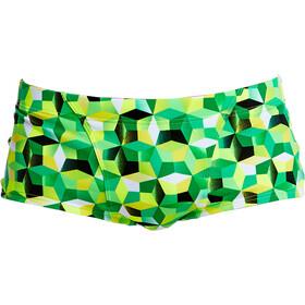 Funky Trunks Classic Costume a pantaloncino Uomo verde